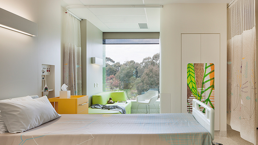 BLP- The Royal Children's Hospital, Parkville, Victoria - Bedroom, 2011