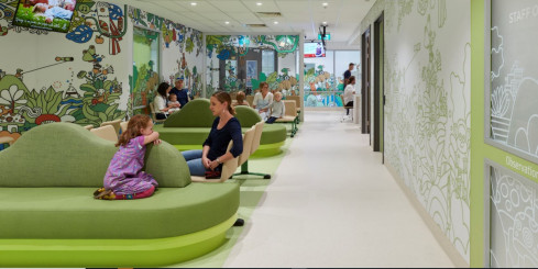 Paediatric ED Waiting Room, The Women's and Children's Hospital Adelaide, SA - STH Architects