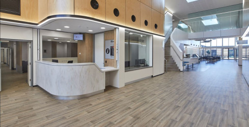 Foyer and Main Reception, Macksville Hospital, NSW - STH Architects