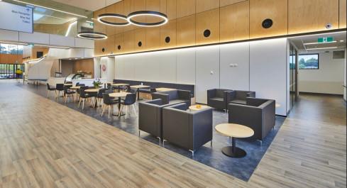 Waiting Area and Cafe, Macksville Hospital, NSW