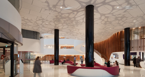 Victorian Comprehensive Cancer Centre - Silver Thomas Hanley Architects